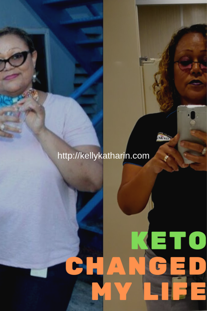 Weight Loss Transformation on the Keto Diet