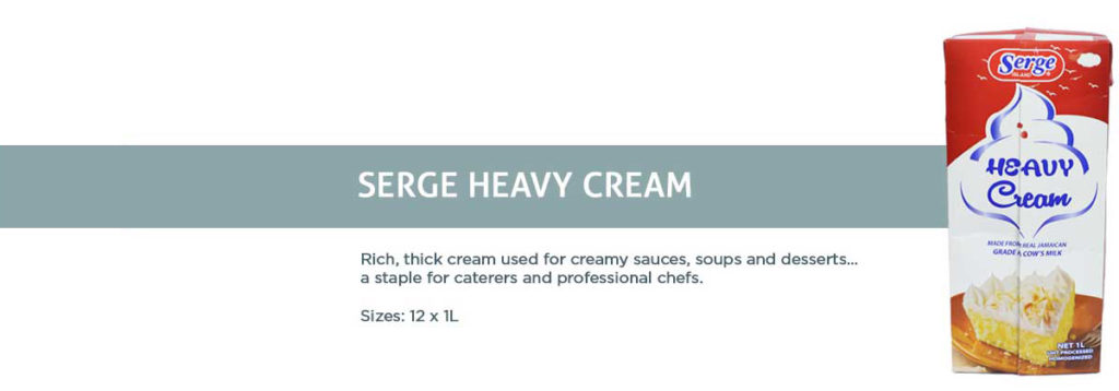 Serge Island Heavy Cream
