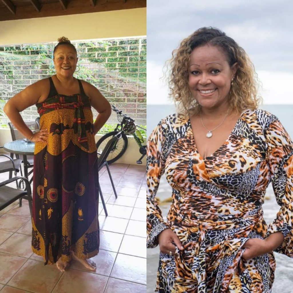 weight loss transformation with the keto diet