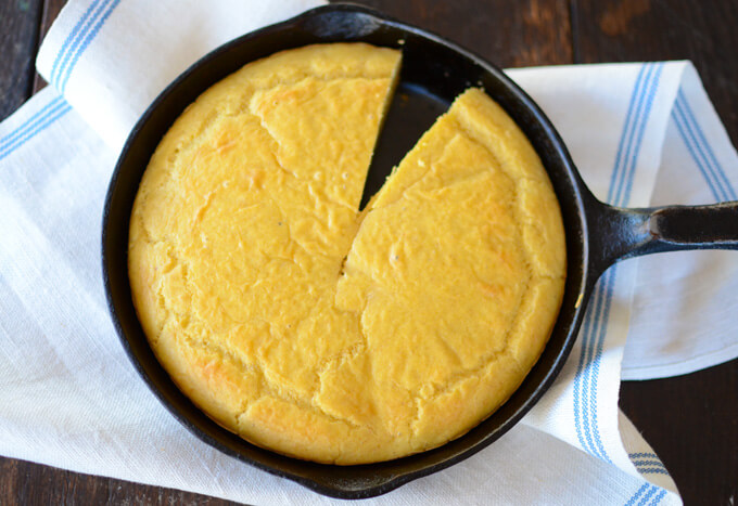 Low-carb corn bread