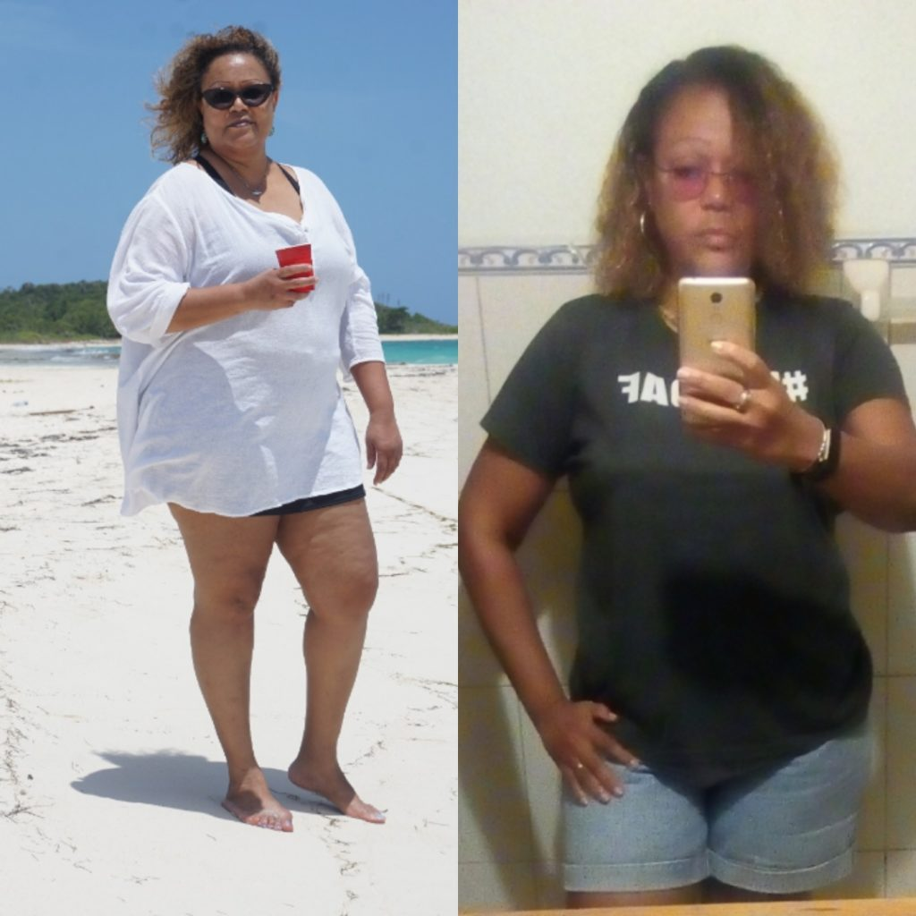 Managing my weight on keto: Before and after