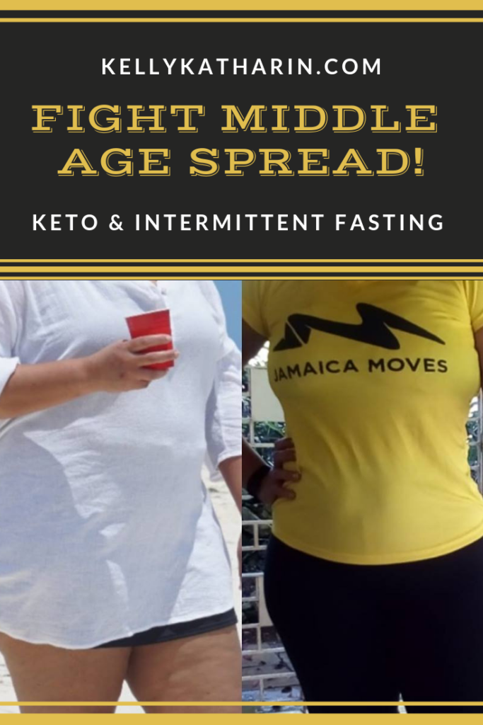 Fight middle age spread with keto