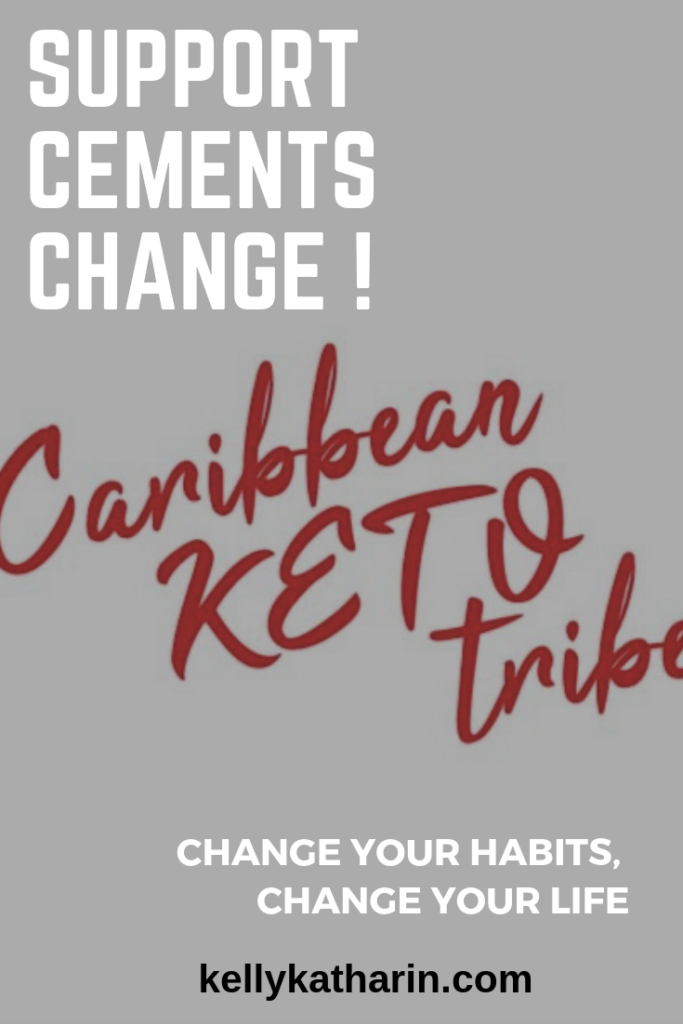 Support group for people on keto: Caribbean Keto Tribe on Facebook