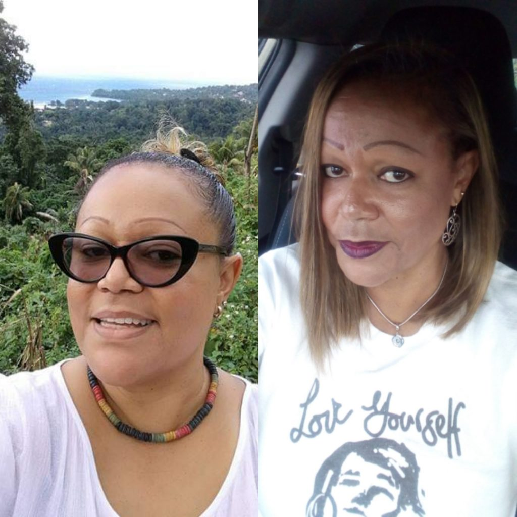 Weight loss transformation on keto Caribbean style
