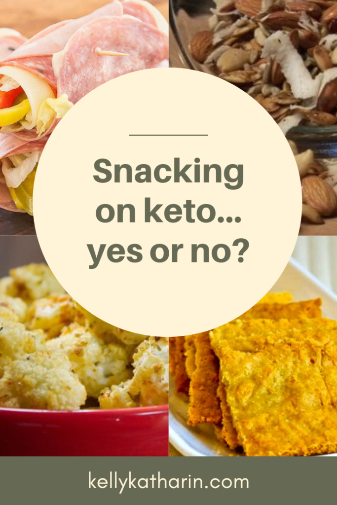 Snacking on keto: yes or no?