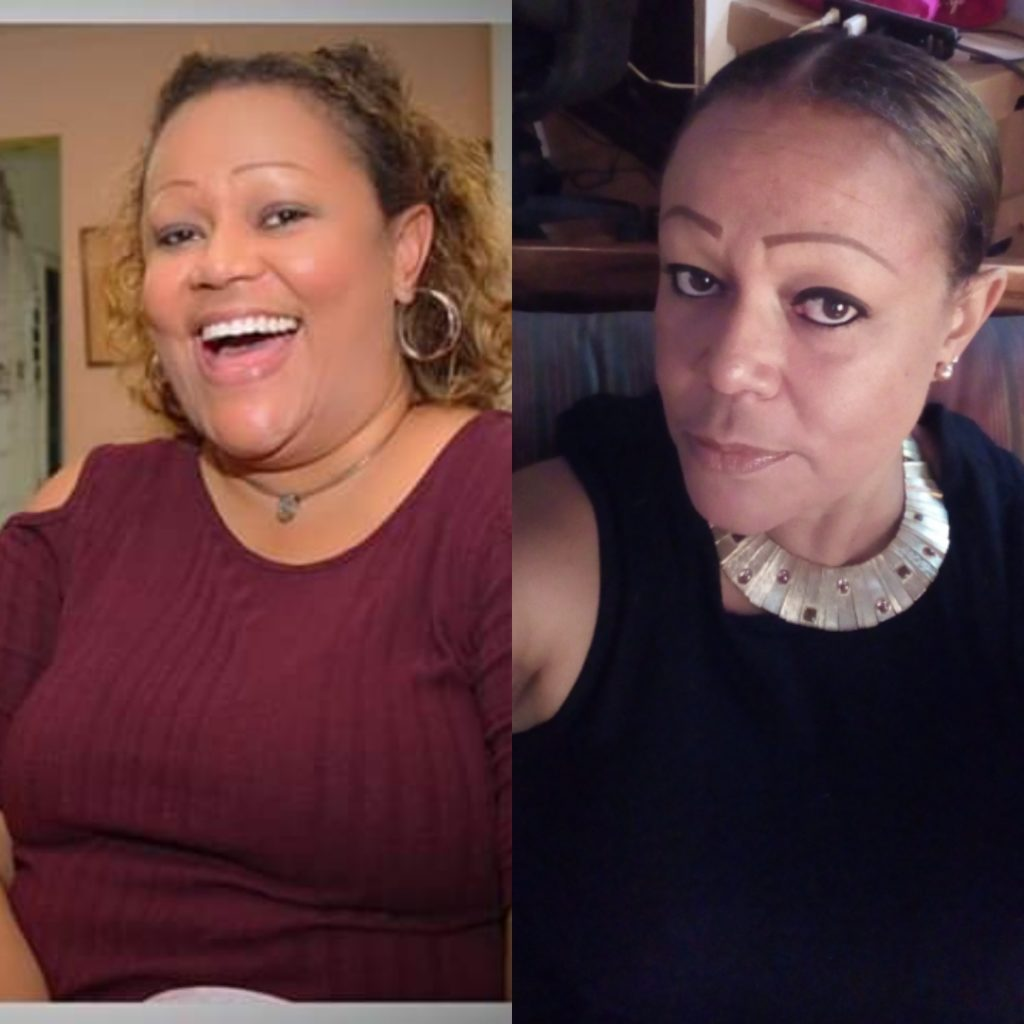 Weight loss transformation on keto