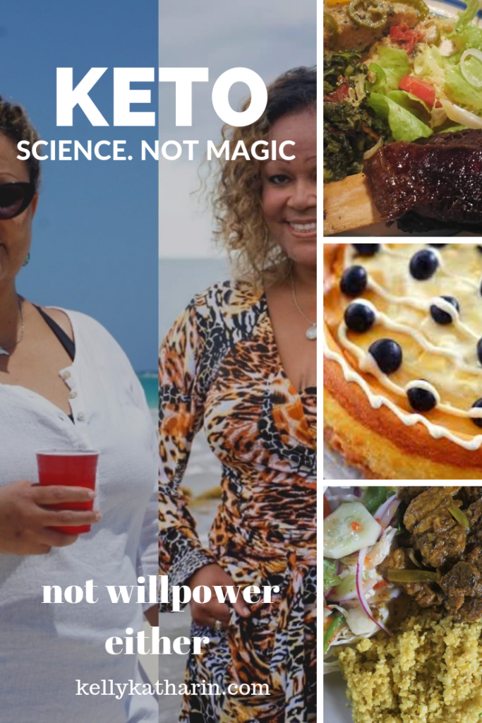 keto: science not magic. Not willpower either.