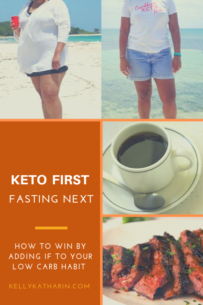 Keto and intermittent fasting: game changer. Weight loss transformation