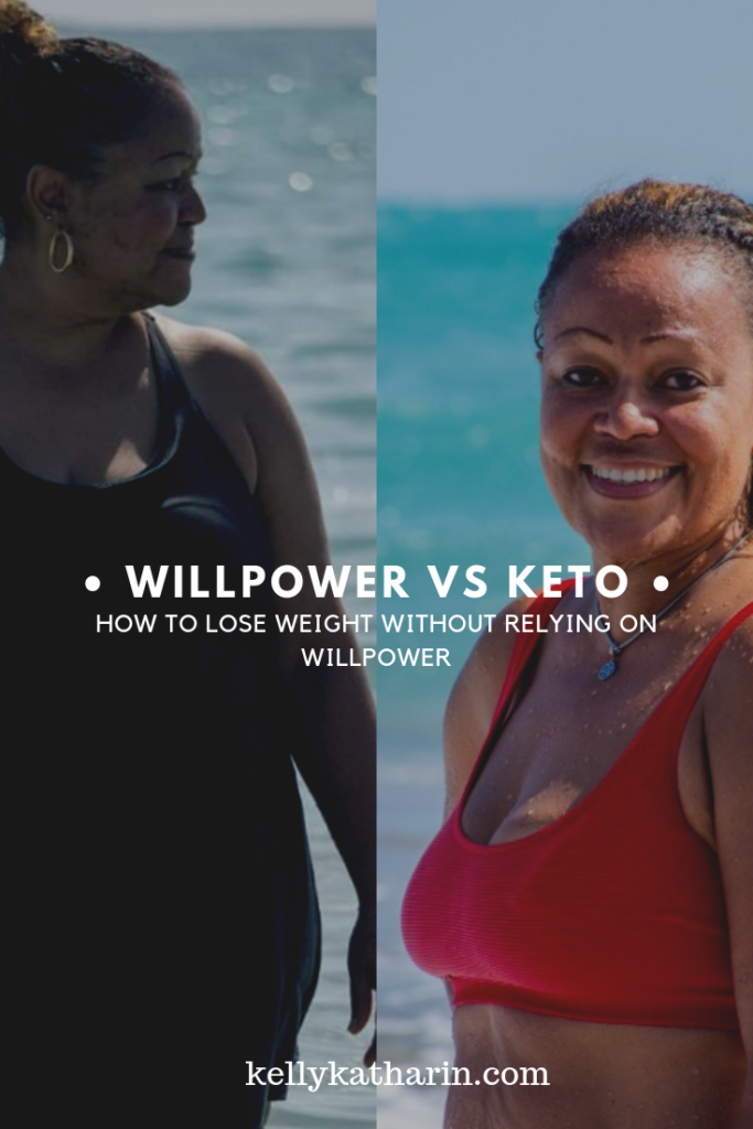 willpower vs keto how to lose weight without relying on keto