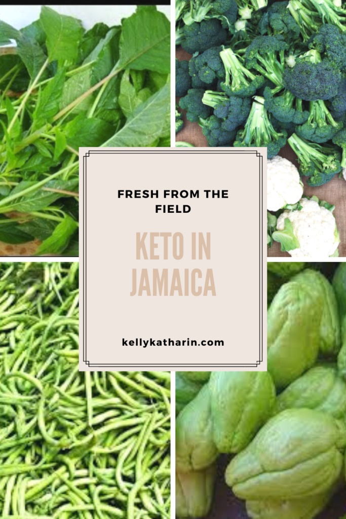 Fresh produce from our Jamaican farmers for the keto community