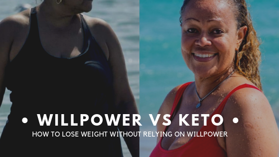 """I'm desperate to lose weight, but I have no willpower. Can Keto help?"""