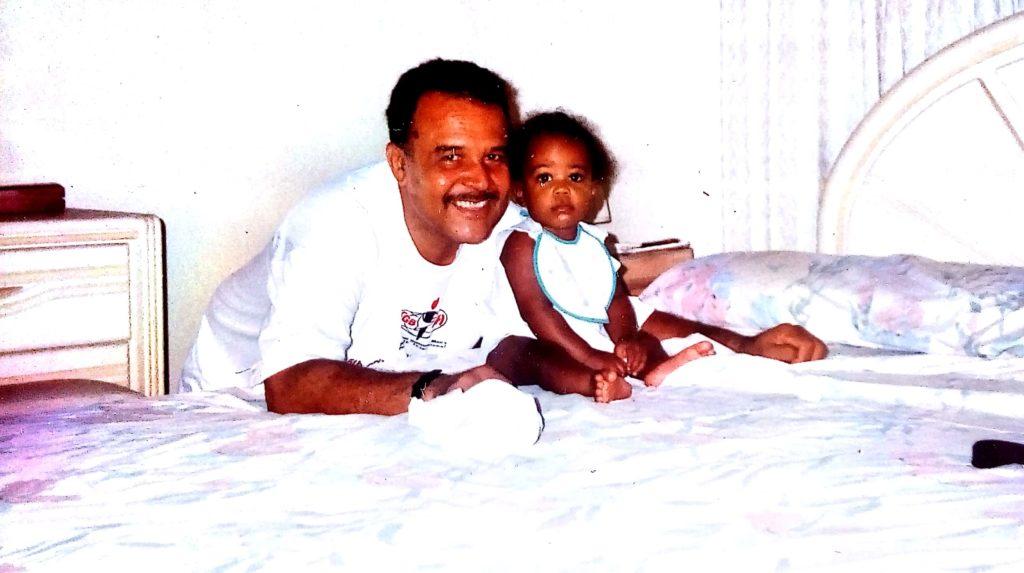 Rachael and Grandpa
