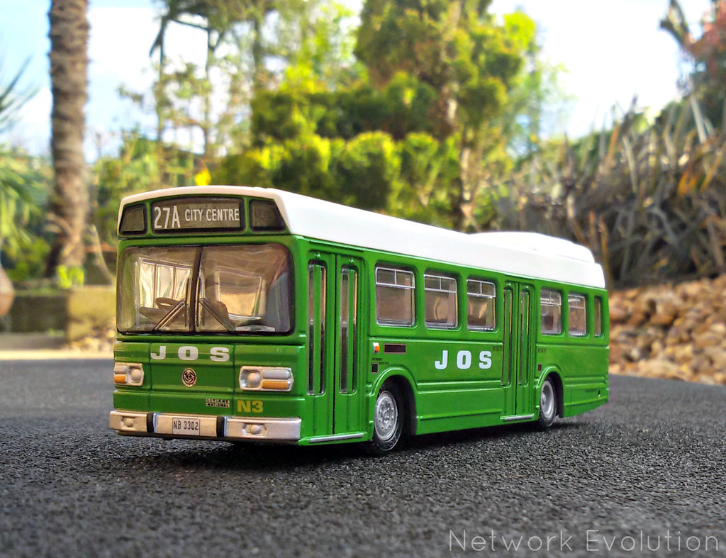 A JOS bus back in the day